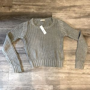 LA made gray sweater